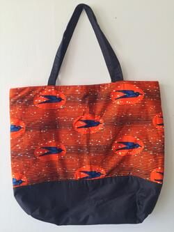 Tote Bag - Birds Sunset
