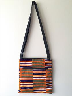 Cross-body bag - kente