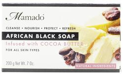 Mamado African Black Soap - Cocoa Butter