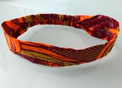 "Hair band ""Sunny Orange"""