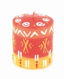 "Candle ""Sunset"""