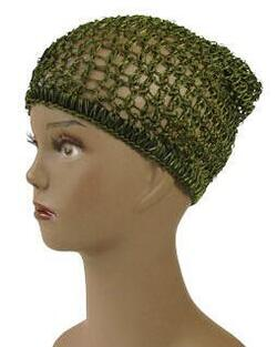 Afri hair net, green