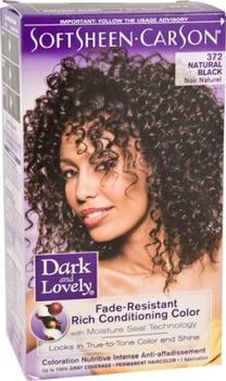 Dark & Lovely Natural Black 372