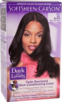 Dark & Lovely Jet Black 371