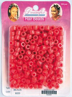 Dream Fix Hair Beads, red