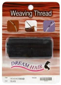 Weaving thread, black
