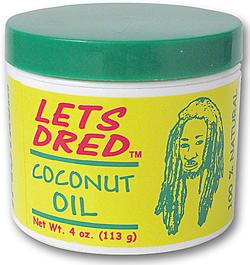 Lets Dred Coconut Oil