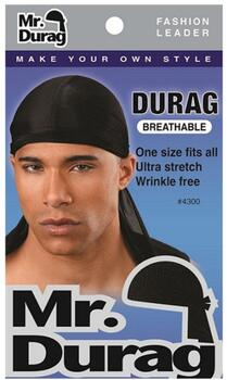 Wave-cap Durag, black