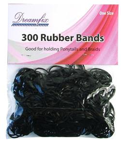 Dreamfix 300 rubber bands black