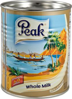 Peak Whole Milk Powder 400g