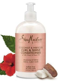 Shea Moisture Coconut & Hibiscus Curl & Shine Conditioner