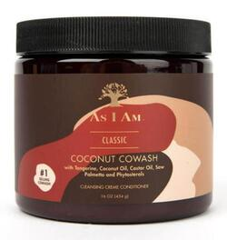 As I Am Coconut CoWash Cleansing Conditioner, for Coils and Curls 454g