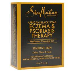 Shea Moisture African Black Soap Eczema & Psoriasis Therapy