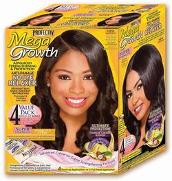 Profectiv Mega Growth No-Lye Relaxer 4 Value Pack SUPER