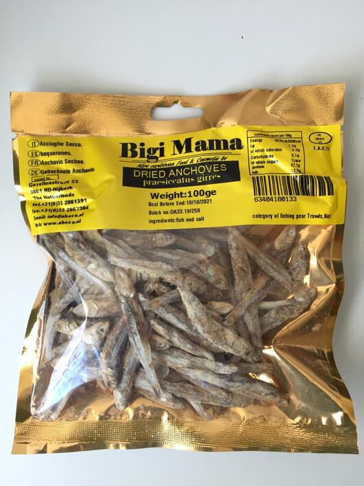 Bigi Mama Dried Anchovies