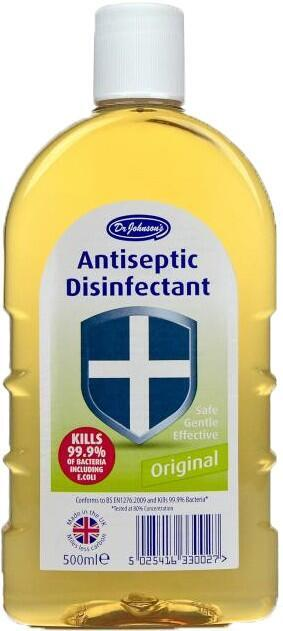 Dr. Johnson's Antiseptic Disinfectant 500 ml