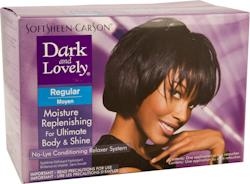 Dark & Lovely No-Lye Conditioning Relaxer System, regular