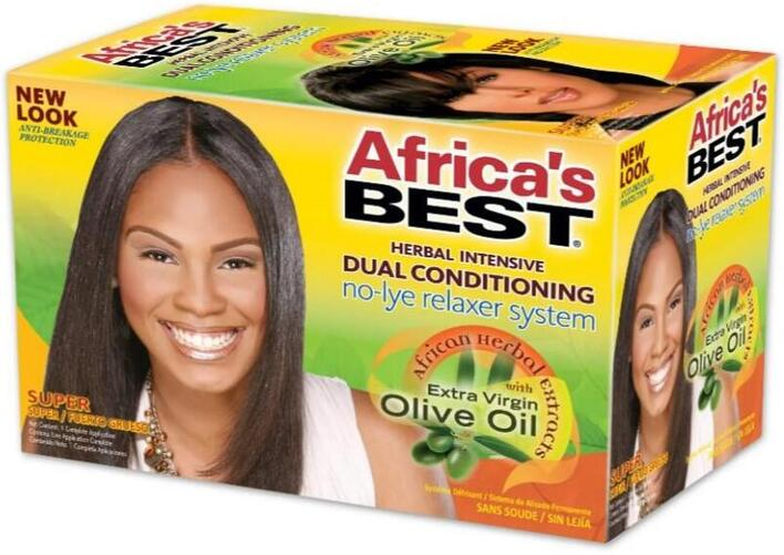 Africa'sBest Herbal Intensive Relaxer System SUPER