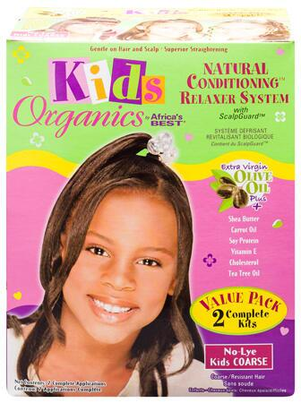 Africa's Best Kids Organics Relaxer COARSE Value Pack