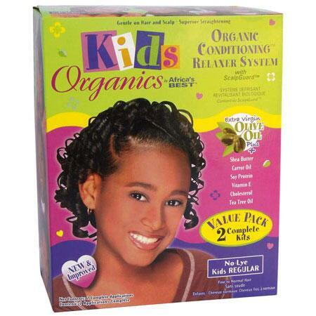Africa's Best Kids Organics Relaxer System REGULAR Value Pack