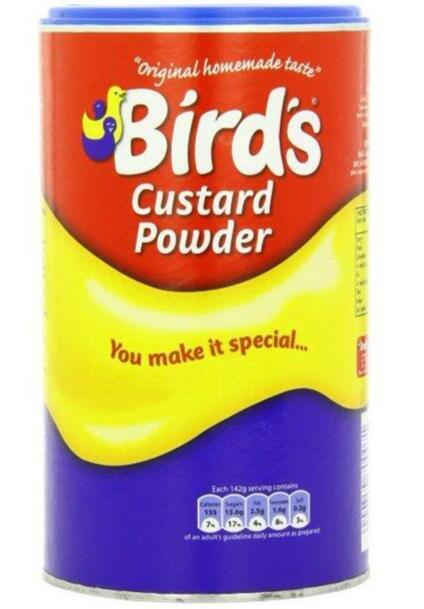 Bird's Custard Powder Vaniljecreme 600g