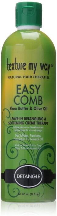 Texture My Way Easy Comb Detangler