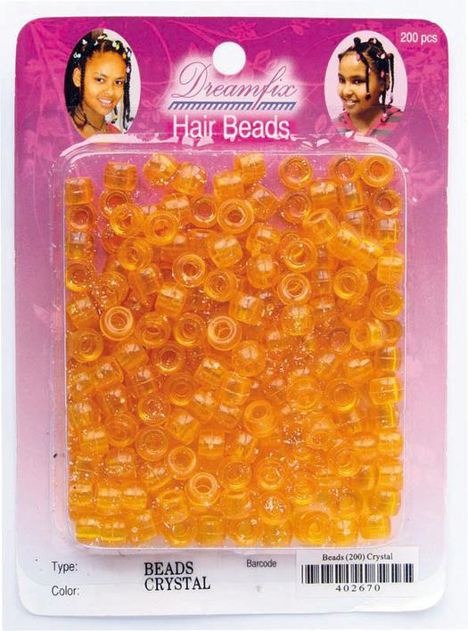 Dreamfix hair beads, orange