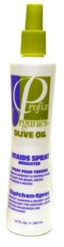 Profix Organics Olive Oil Braids Spray