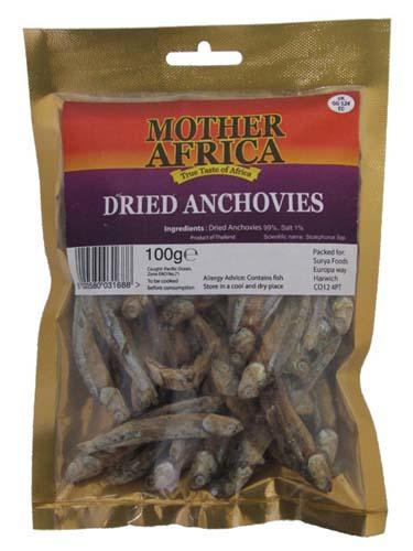 Dried Anchovies 100g