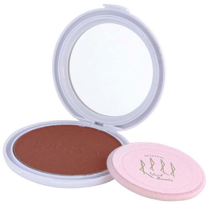 Island Beauty Facepowder Chocolate