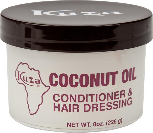 Kuza Coconut Oil Conditioner & Hair Dressing