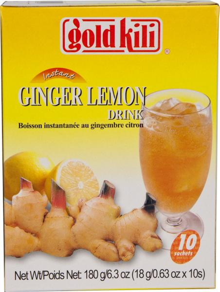 Gold Kili Ginger Lemon Drink