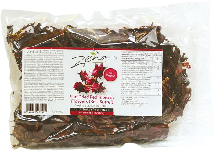Zena Red Hibiscus Tea 125g