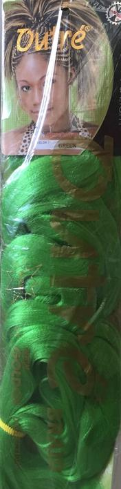 Outré Braid, green