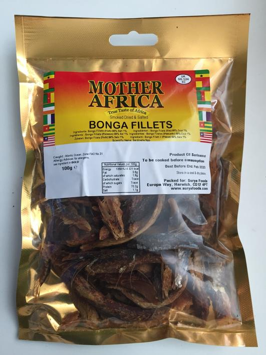 Bonga fillets