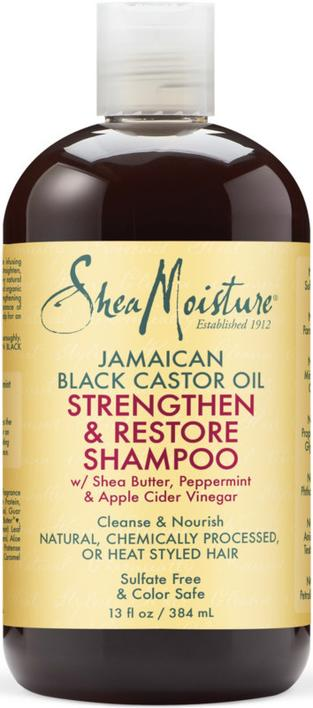 SheaMoisture Strengthen & Restore Shampoo 384 ml