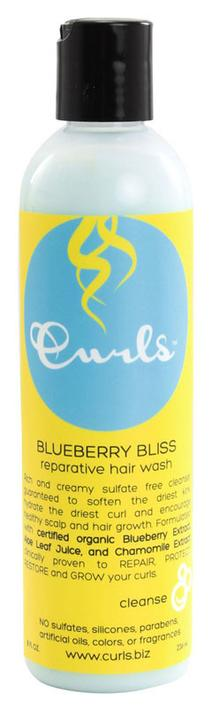 Curls Blueberry Bliss Reparative Hair Wash