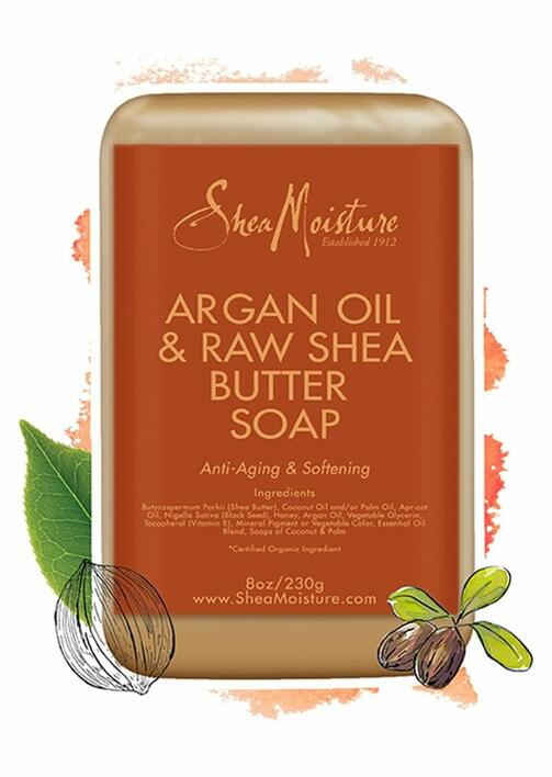 Shea Moisture Argan OIl & Raw Shea Butter Soap