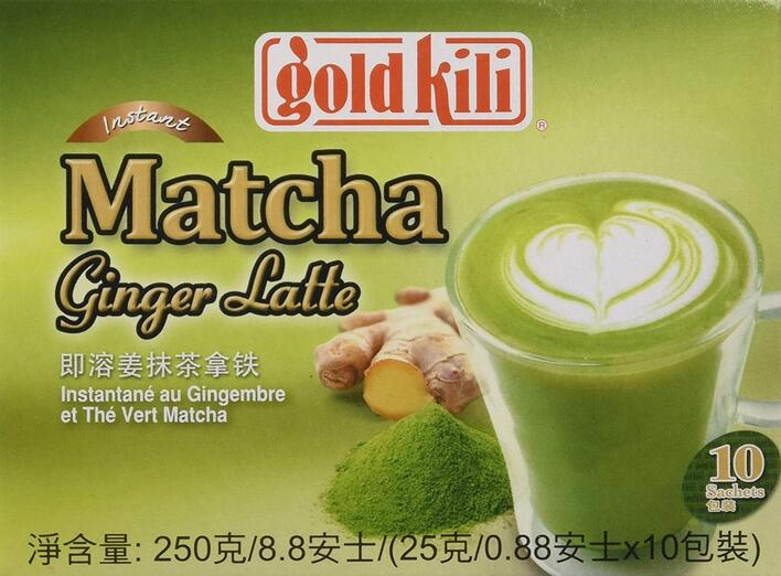 Matcha Ginger Latte