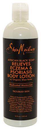 Shea Moisture African Black Soap Relieves Eczema & Psoriasis Body Lotion