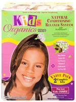 Kids Organics Relaxer COARSE Value Pack