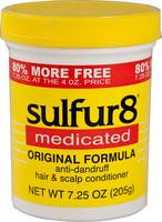 Sulfur8 Anti-dandruff hair & scalp conditioner 200 ml