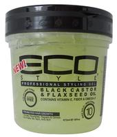 ECO Styler Styling Gel Black Castor Oil & Flax Seed 473 ml