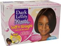 Dark & Lovely Beautiful Beginnings Soft'n Straight Relaxer System NORMAL