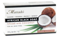 Mamado African Black Soap - Coconut