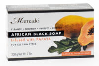 Mamado African Black Soap - Papaya